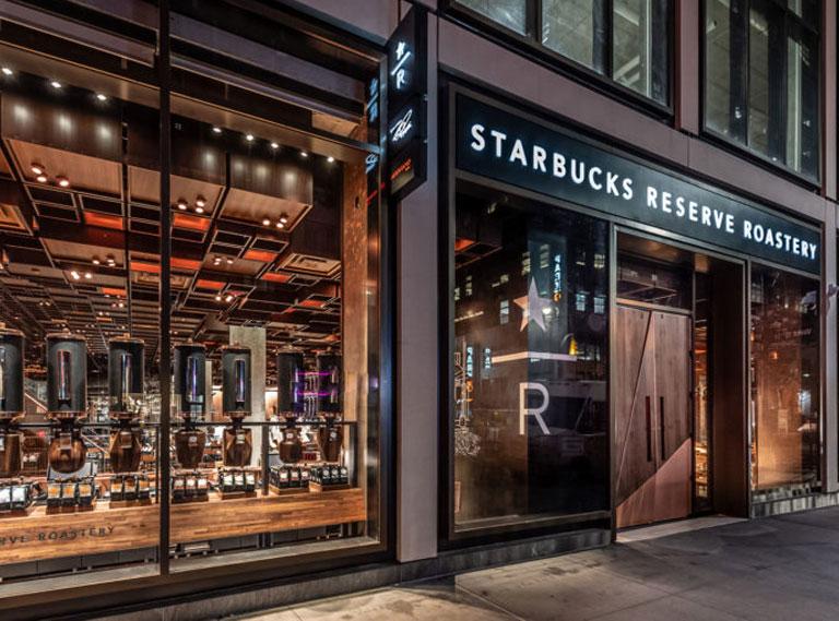 Starbucks Reserve Roastery New York Tokyo Milan
