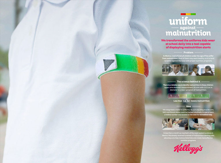 Uniforms Against Malnutrition