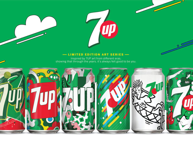 7Up Global Vintage Pack