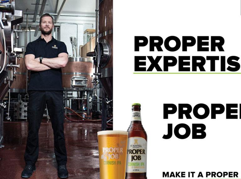 Proper Job Brand Identity
