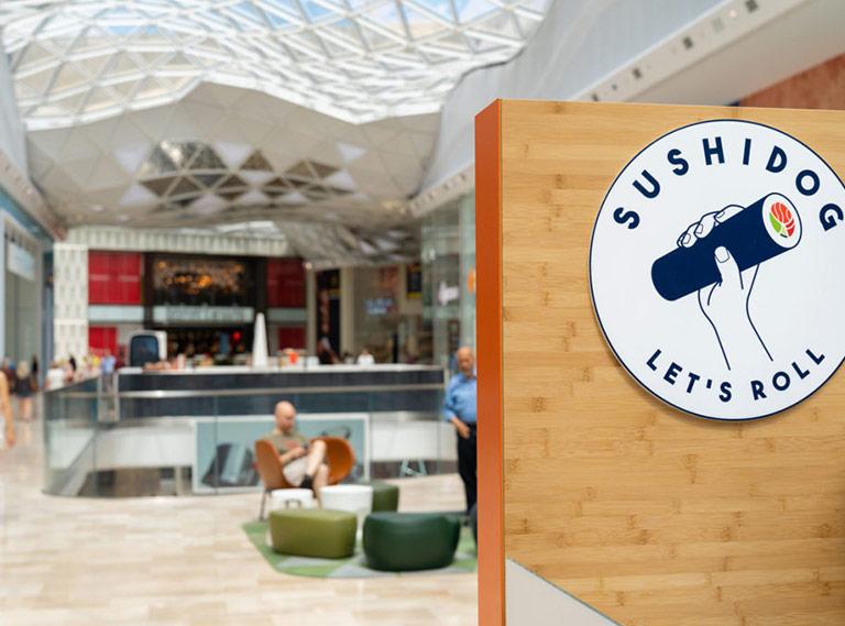 SushiDog Westfield Kiosk