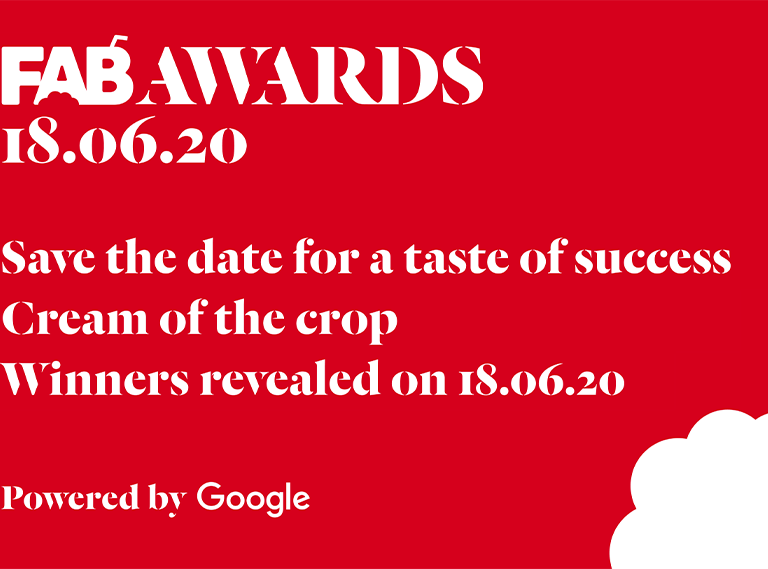 The 22nd FAB Awards Winners announced on Thursday, 18th June from 4:00 PM UK Time