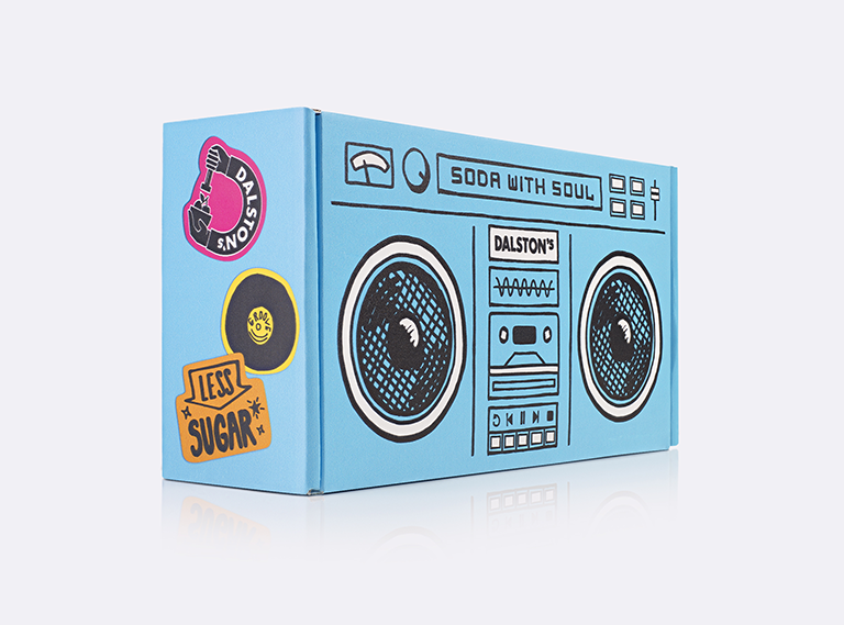 Dalston's Soda Packaging ( Outer Boxes )
