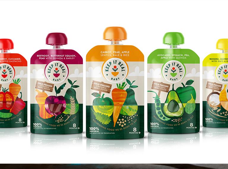 Keep It Real Baby – Fresh Organic Baby Food
