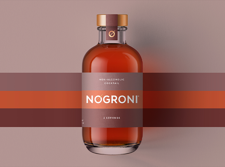 NOgroni: A non-alcoholic, NOgroni ready-to-drink challenger