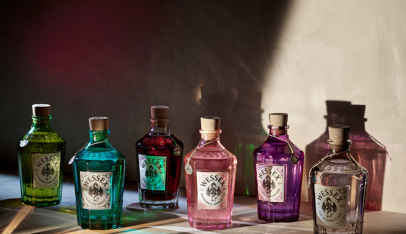 Wessex Distillery Mythical English Gins