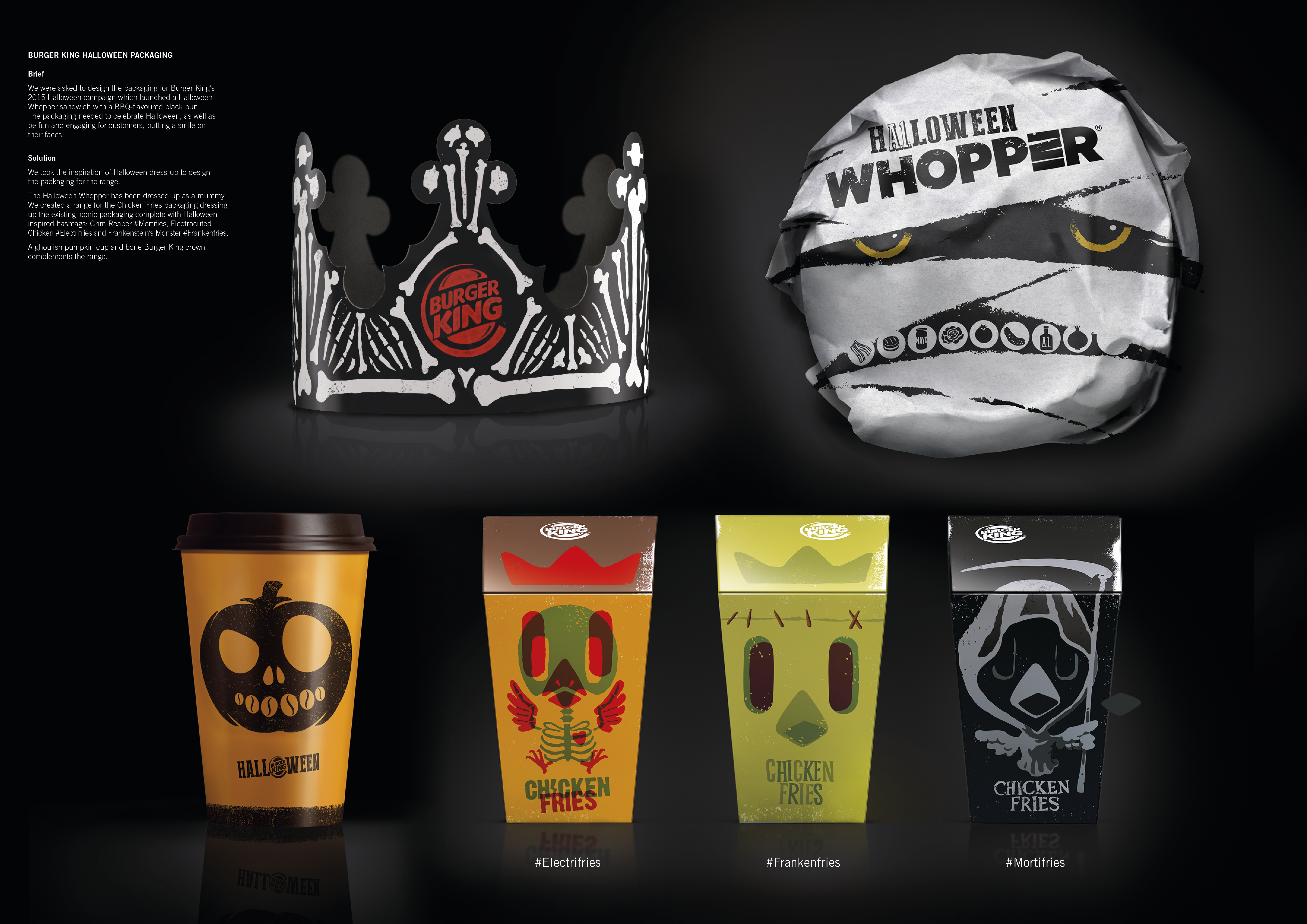 The FAB Awards | Burger King Halloween Packaging