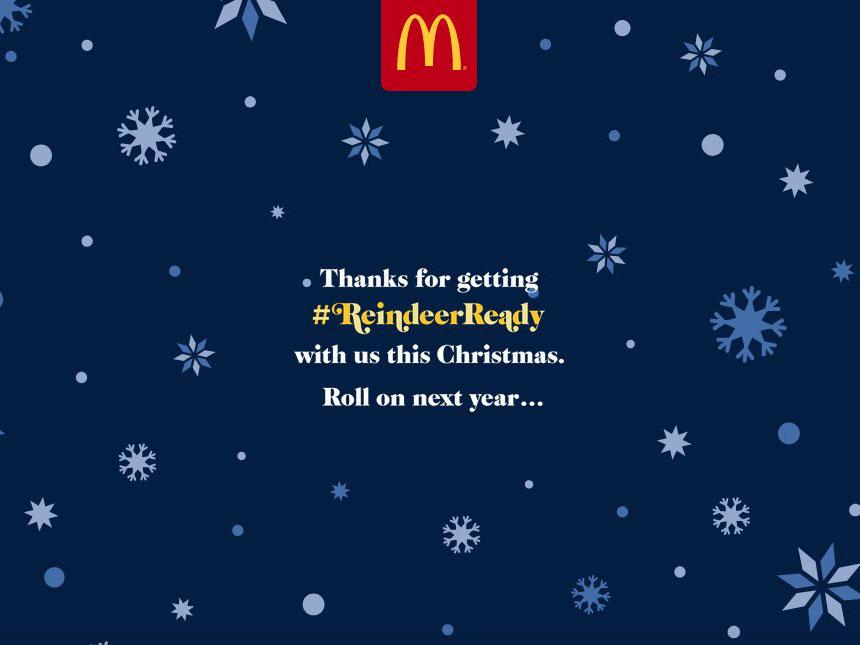The FAB Awards | McDonald's – Reindeer Ready